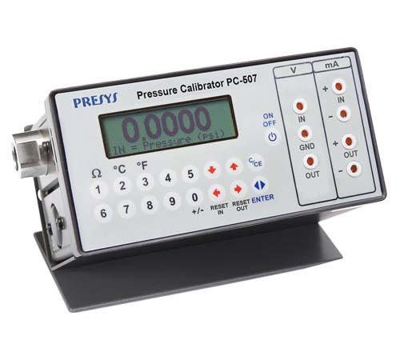 Aferição de instrumentos de pressão
