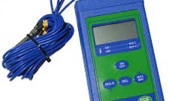 Manutenção termômetro digital